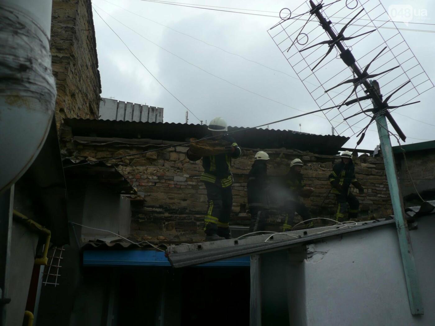 В Одессе в результате взрыва в здании обгорел мужчина, - ФОТО , фото-3