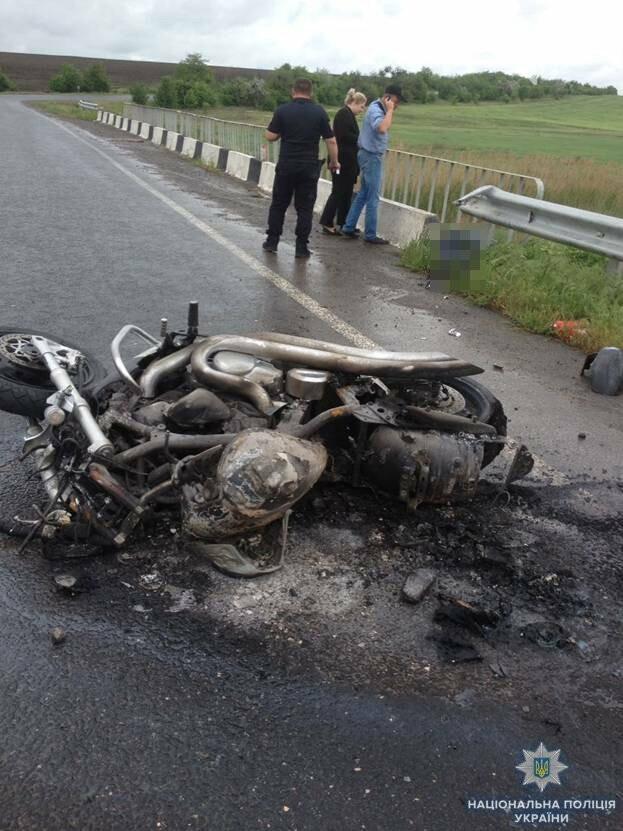 В Одесской области разбился насмерть мотоциклист из Мелитополя, - ФОТО, фото-1