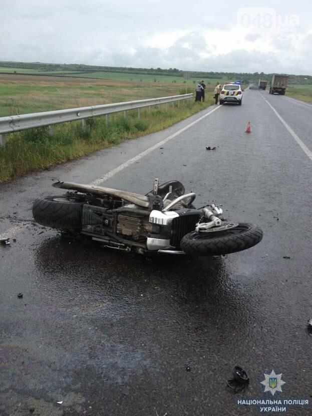 В Одесской области разбился насмерть мотоциклист из Мелитополя, - ФОТО, фото-2