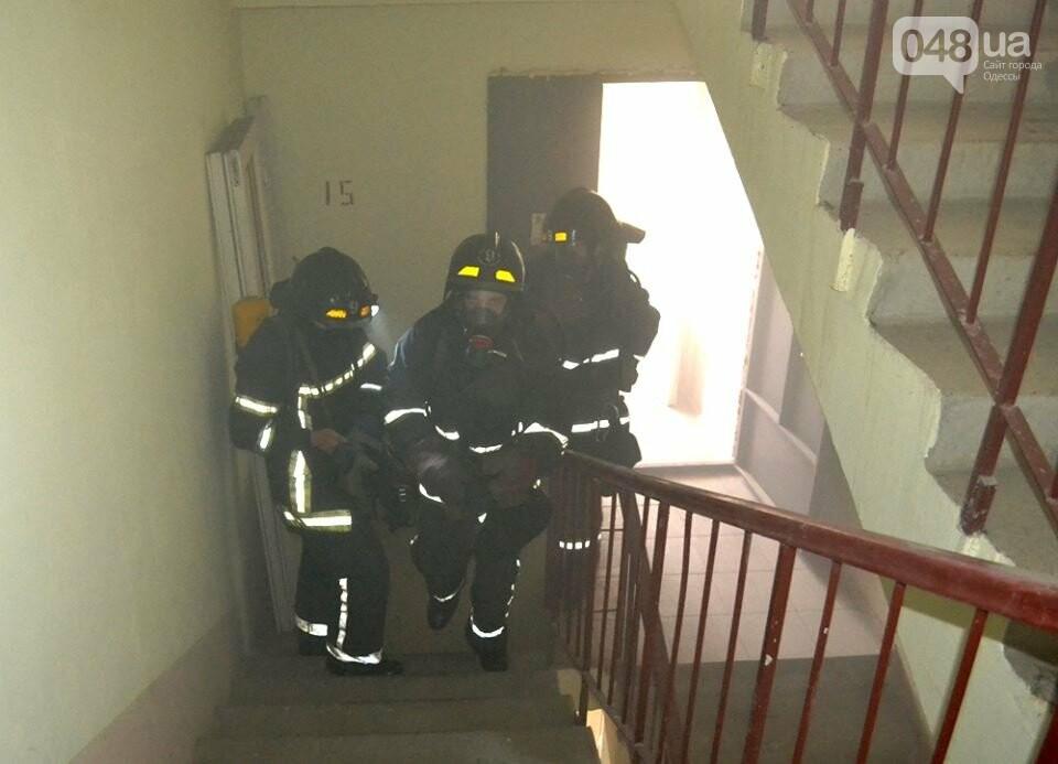 Драматические кадры: Как спасали одесситов из пожара на Говорова, - ФОТО, фото-2