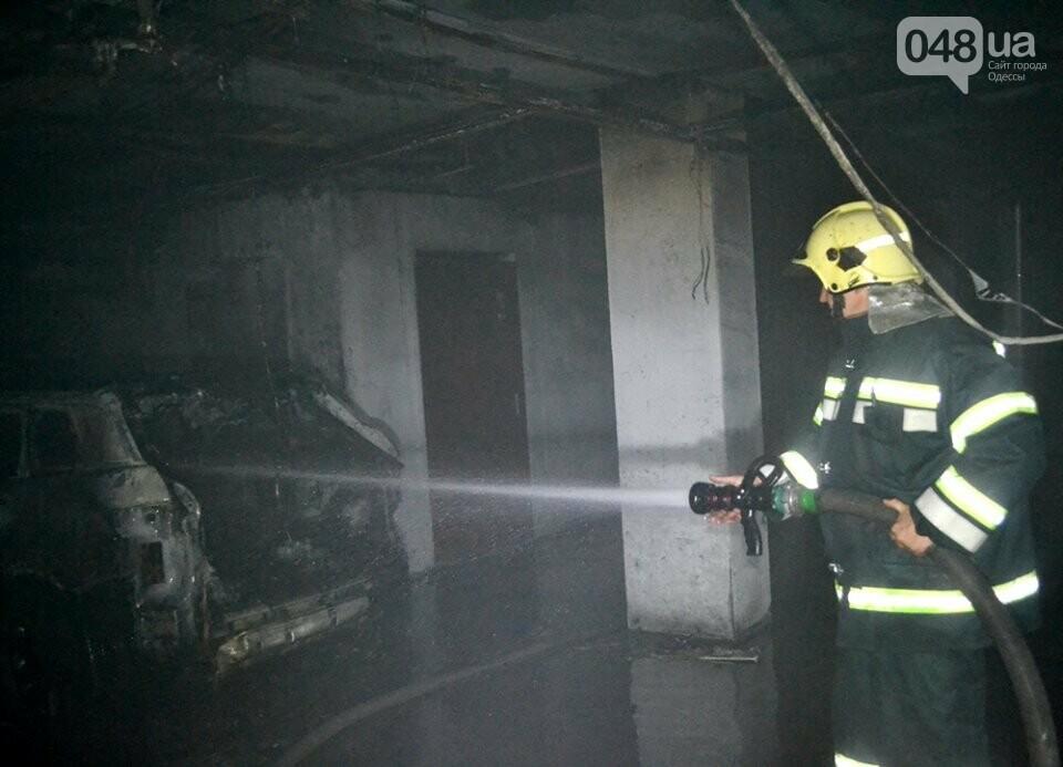 Драматические кадры: Как спасали одесситов из пожара на Говорова, - ФОТО, фото-3