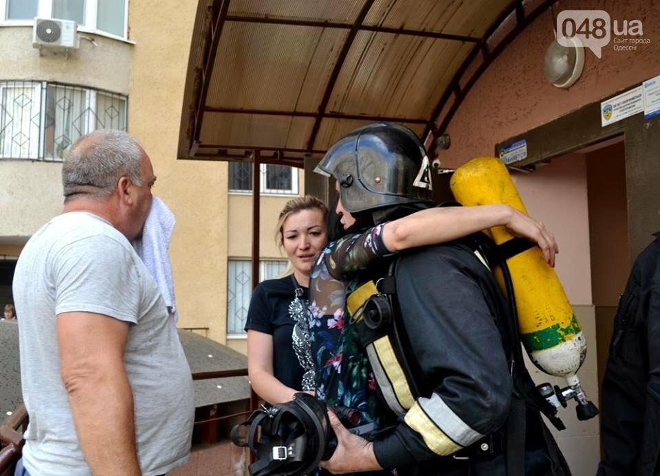 Драматические кадры: Как спасали одесситов из пожара на Говорова, - ФОТО, фото-4