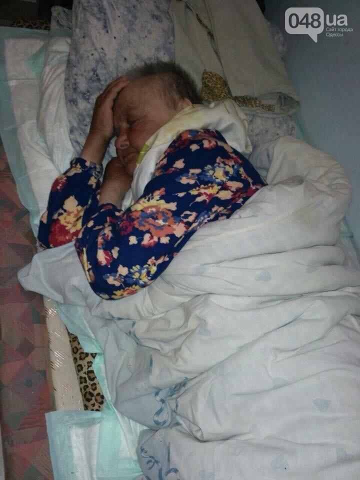 В Одессе парализованная старушка месяц спала на асфальте у церкви, - ФОТО, фото-3