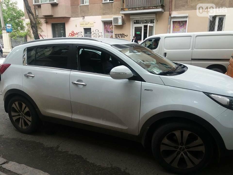В Одессе четверо в балаклавах ограбили автомобиль и похитили сумку с деньгами, - ФОТО, ОБНОВЛЕНО, фото-1