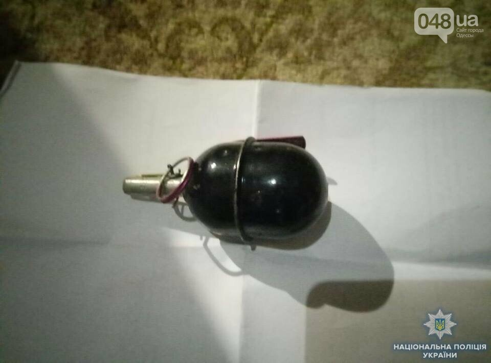 У наркодилера в Одесской области нашли пистолет и гранату, - ФОТО, фото-2