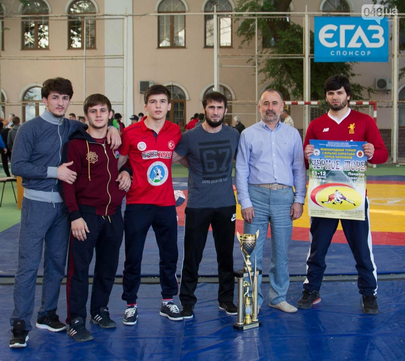 В Одессе состоялся международный турнир по вольной борьбе «Черное  море 2018», фото-4