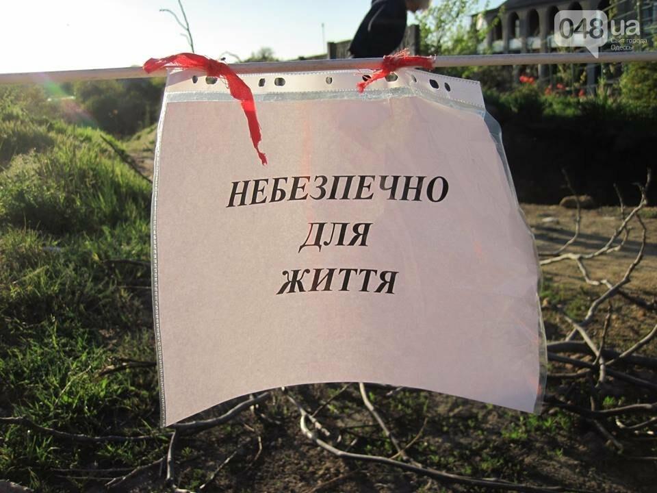 Под Одессой дорога и частная усадьба провалились в катакомбы, - ФОТО, фото-4