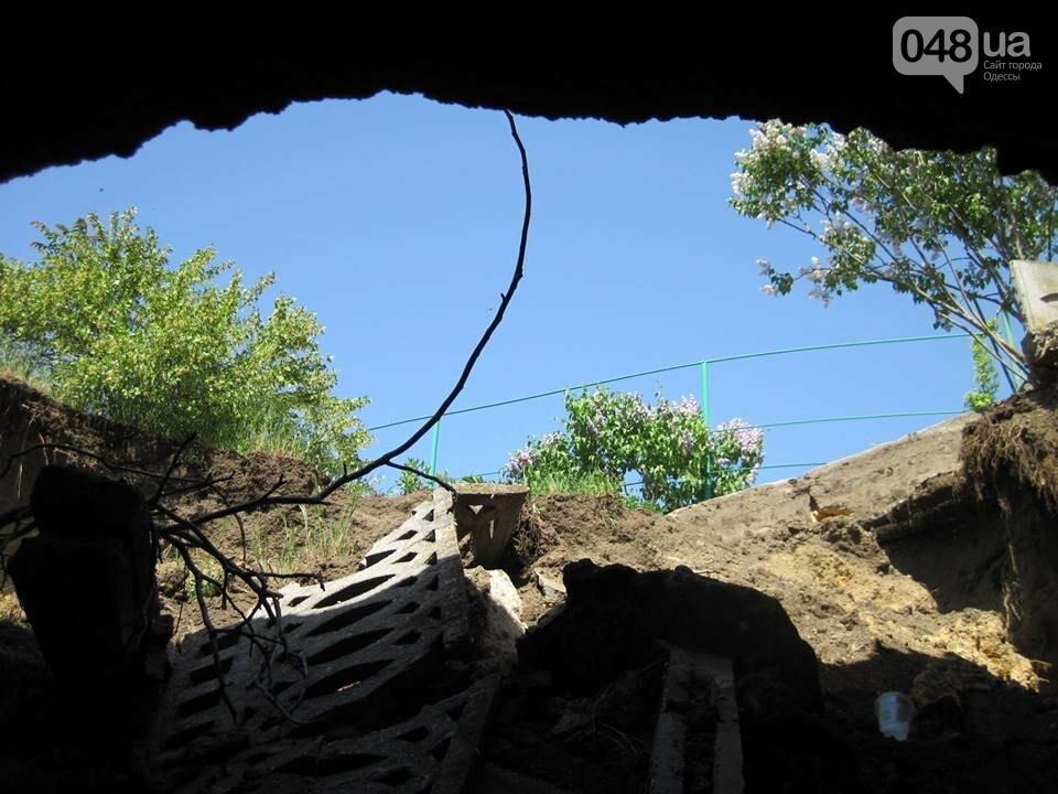 Под Одессой дорога и частная усадьба провалились в катакомбы, - ФОТО, фото-8