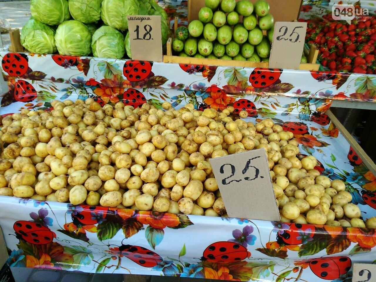 На одесских рынках появились зеленый горошек и черешня, а цена на клубнику упала, - ФОТО, фото-5