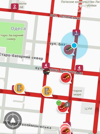 Дорожный коллапс в Одессе: из-за перекрытой Пушкинской парализовано все движение, - ФОТО, фото-1