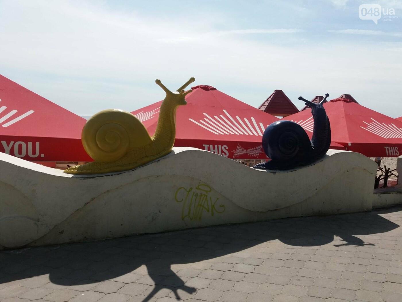 Одесским брюхоногим закрыли вид на море, - ФОТОФАКТ, фото-1