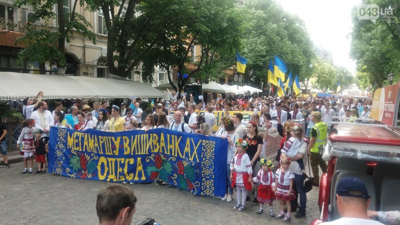 В Одессе прошел Мегамарш в вышиванках, - ФОТО, ВИДЕО, фото-1