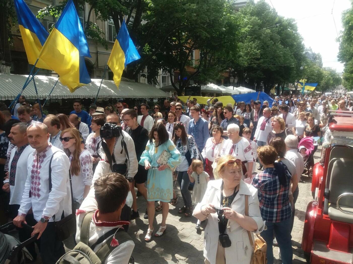 В Одессе прошел Мегамарш в вышиванках, - ФОТО, ВИДЕО, фото-5