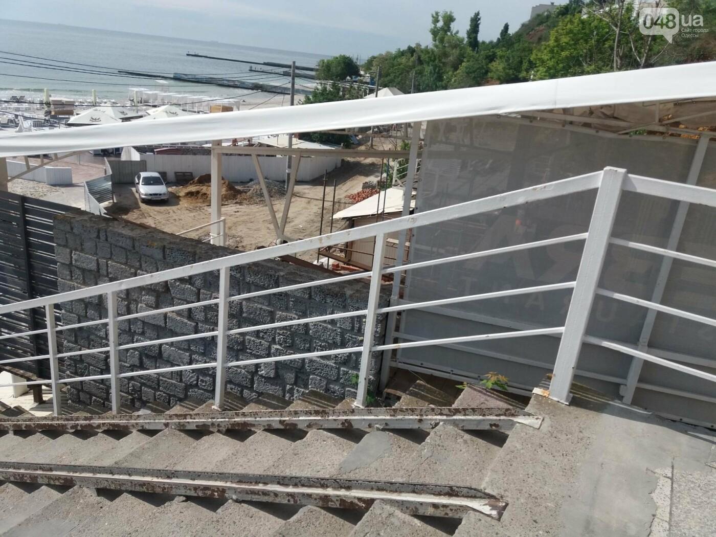 На 10 станции Фонтана в Одессе продолжается строительство эстакады, - ФОТО , фото-4