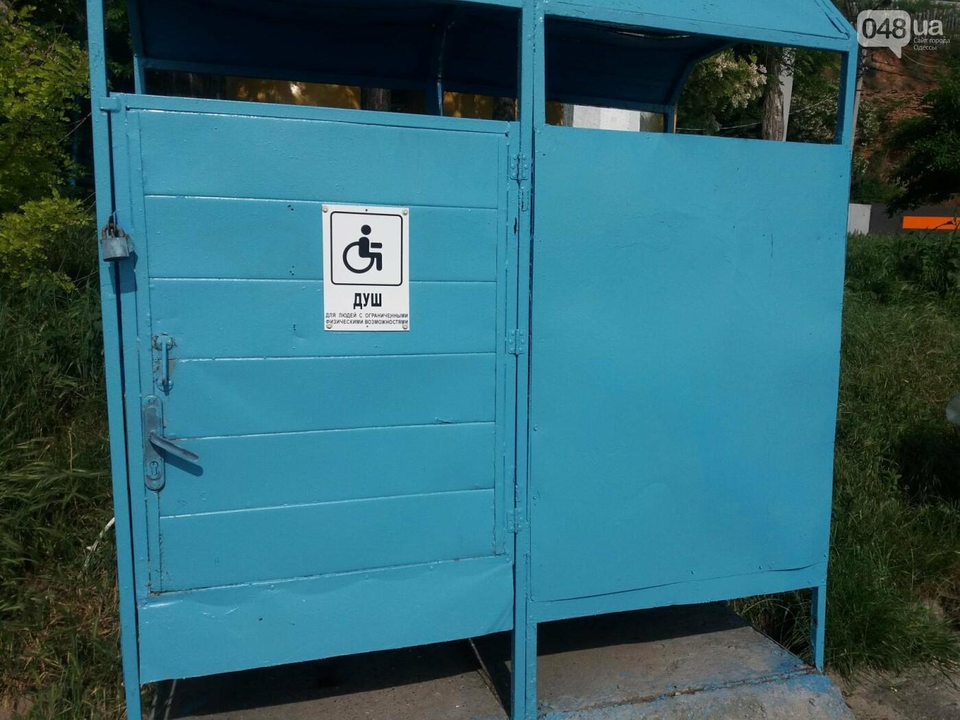 Потрясающий цинизм: как одесские чиновники благоустроили пляж для людей с инвалидностью, - ФОТО , фото-2