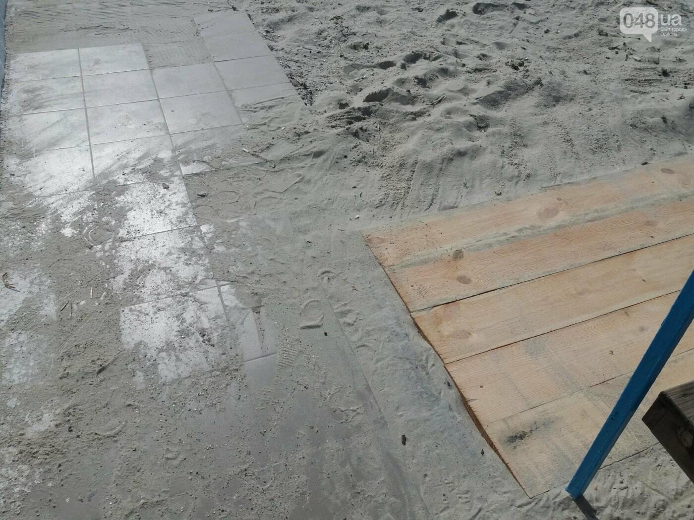 Потрясающий цинизм: как одесские чиновники благоустроили пляж для людей с инвалидностью, - ФОТО , фото-9