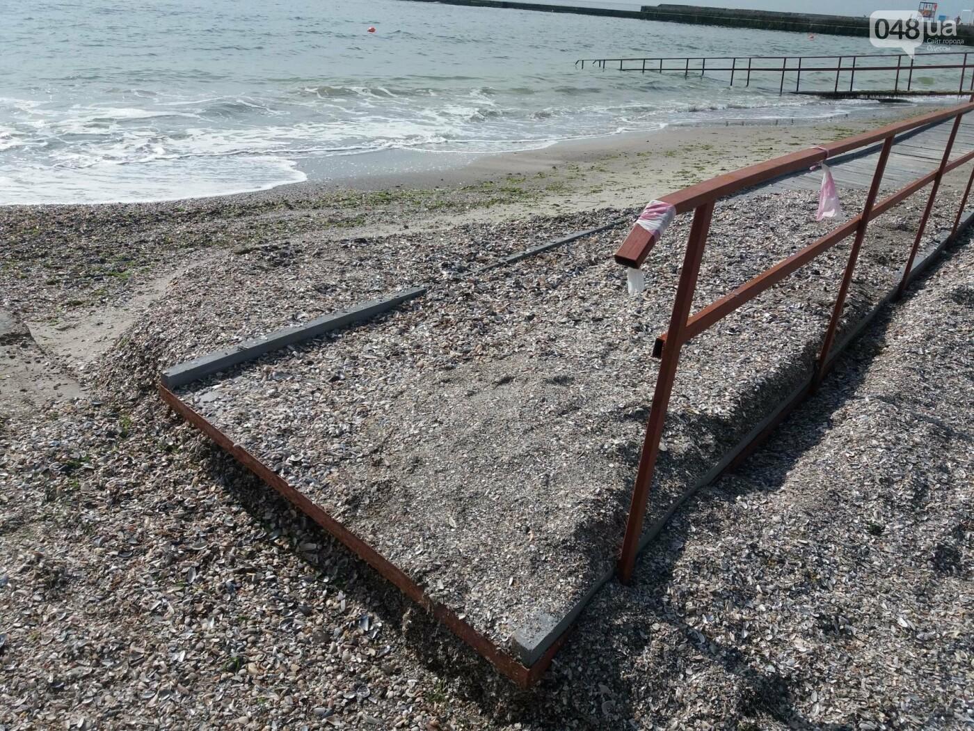 Потрясающий цинизм: как одесские чиновники благоустроили пляж для людей с инвалидностью, - ФОТО , фото-14