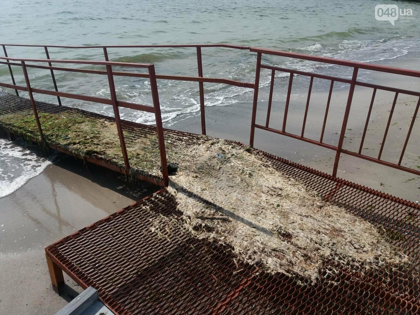 Потрясающий цинизм: как одесские чиновники благоустроили пляж для людей с инвалидностью, - ФОТО , фото-13