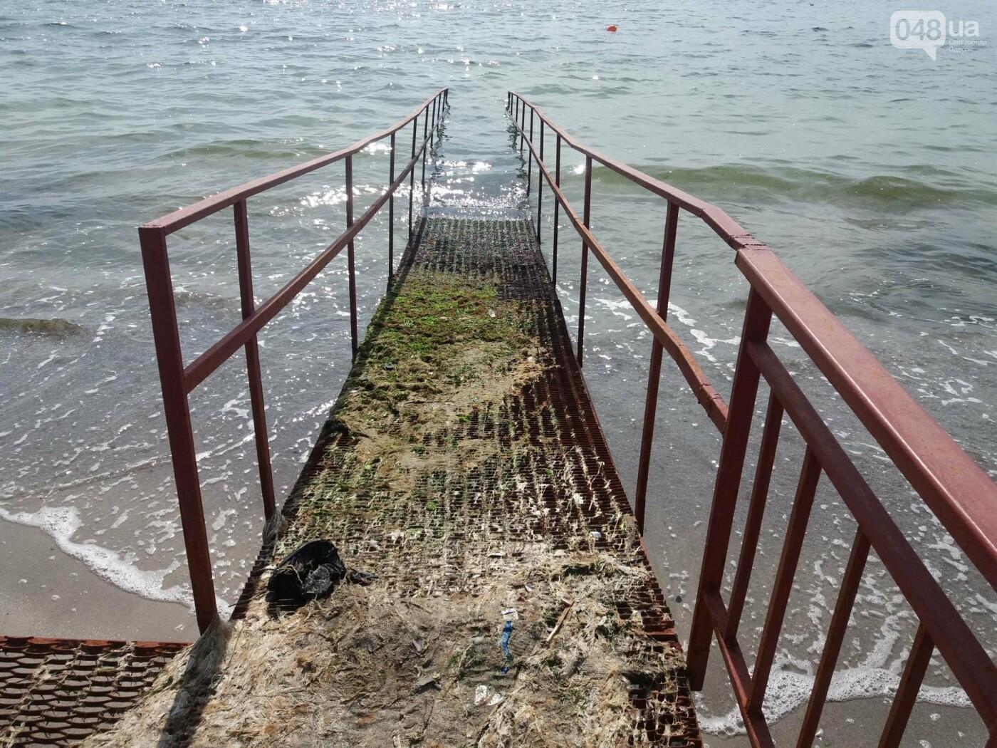 Потрясающий цинизм: как одесские чиновники благоустроили пляж для людей с инвалидностью, - ФОТО , фото-12