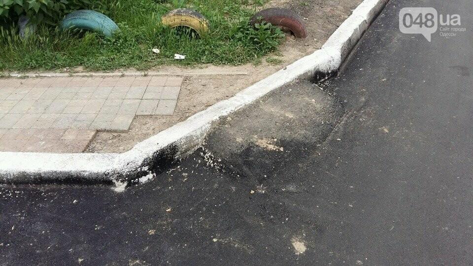 В Одессе постелили асфальт в обход машин, - ФОТО, фото-3