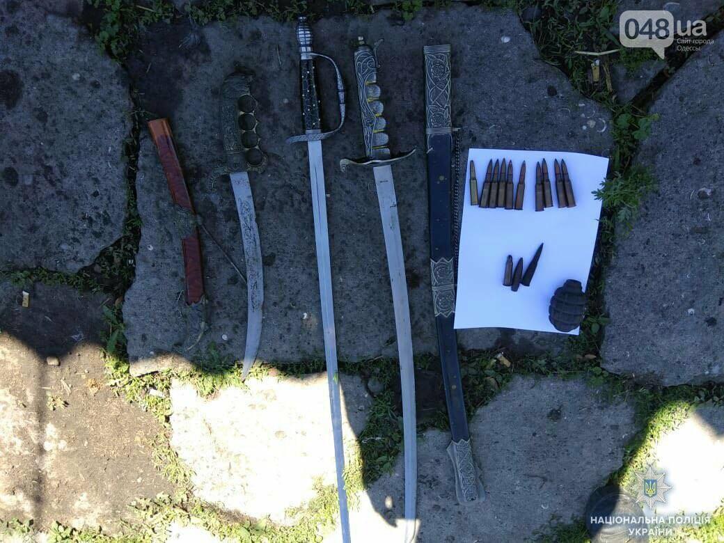 Под Одессой арестовали коллекционера уникального оружия, - ФОТО, фото-1