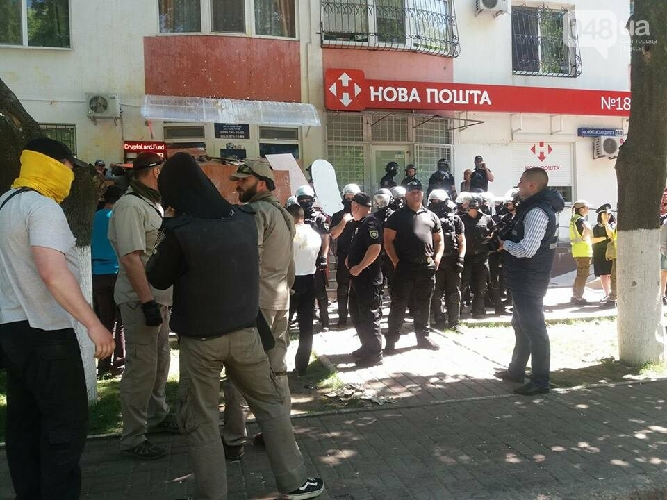 Страсти на одесском Фонтане: Ксенофобия против сепаратизма, - ФОТО, фото-3