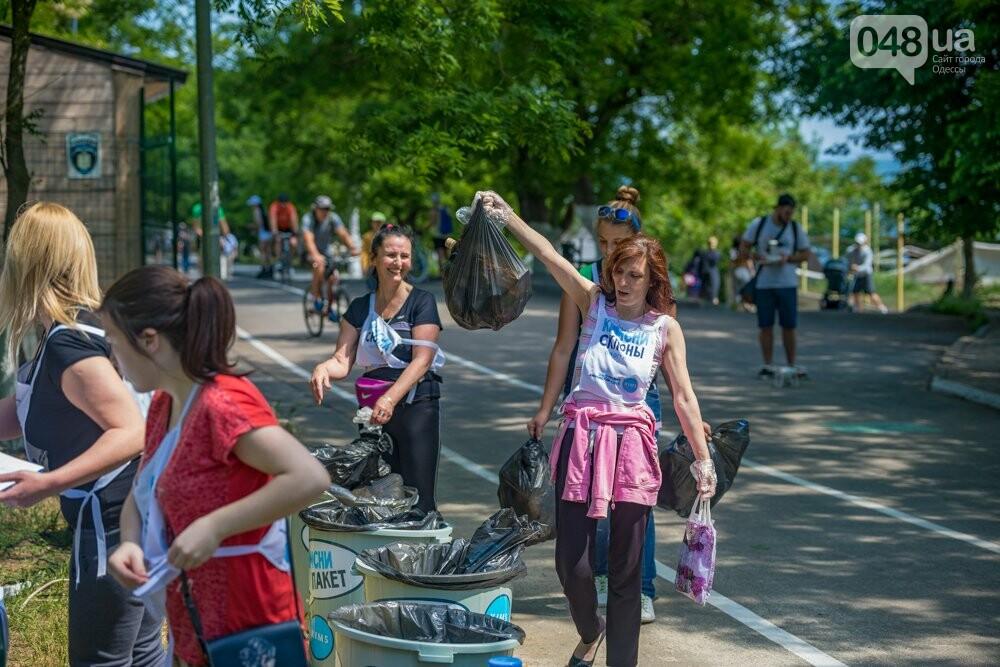 Погоня за мусором: одесситы поучаствовали в первом в истории Украины плоггинге, - ФОТО, фото-6
