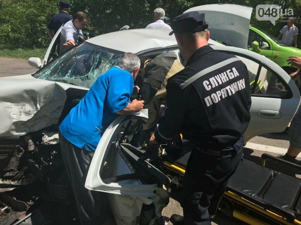 Под Одессой в аварии погиб человек, фото-1