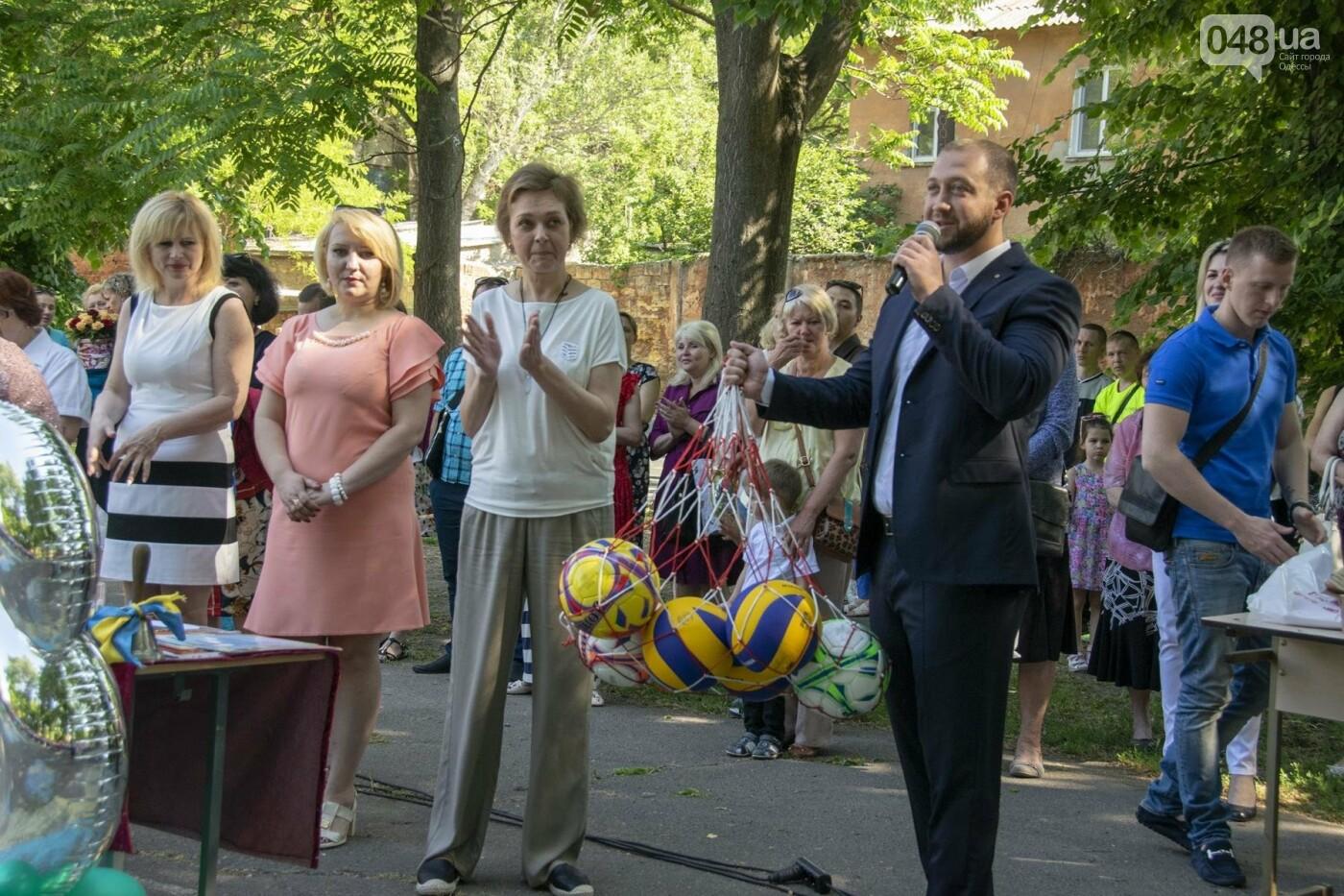 В одесских школах прозвучал последний звонок, фото-3