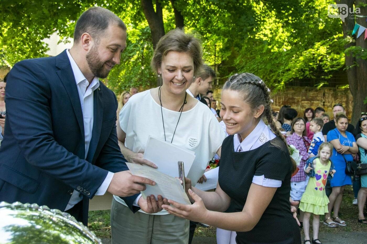 В одесских школах прозвучал последний звонок, фото-4
