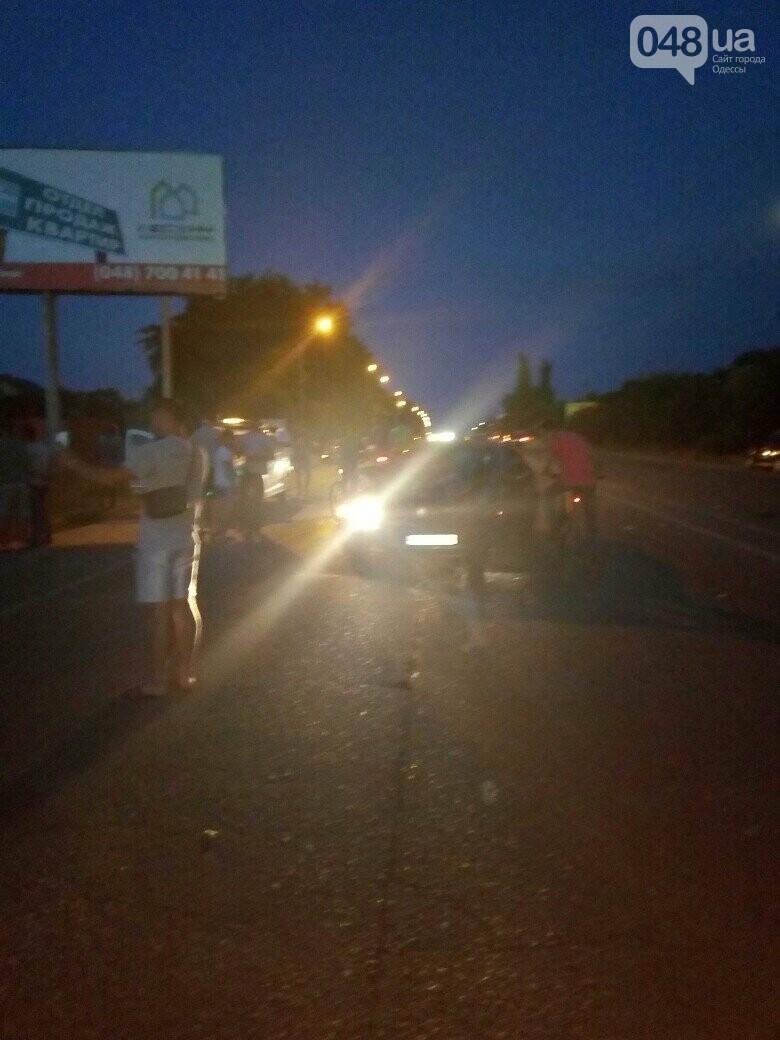 Под Одессой BMW на бляхах повалил микроавтобус, - ФОТО, фото-2