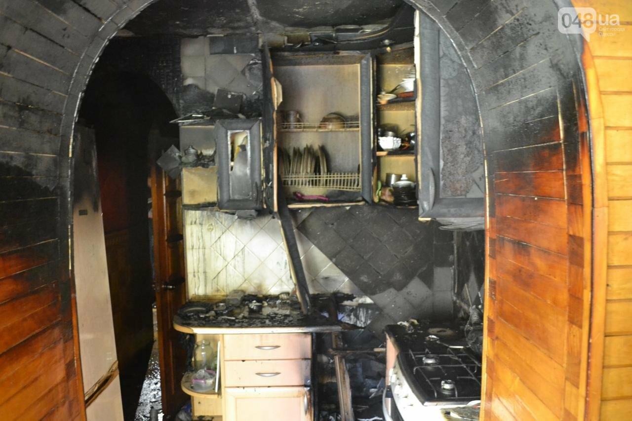 """В Одесской """"хрущевке"""" выгорела квартира, - ФОТО, фото-2"""