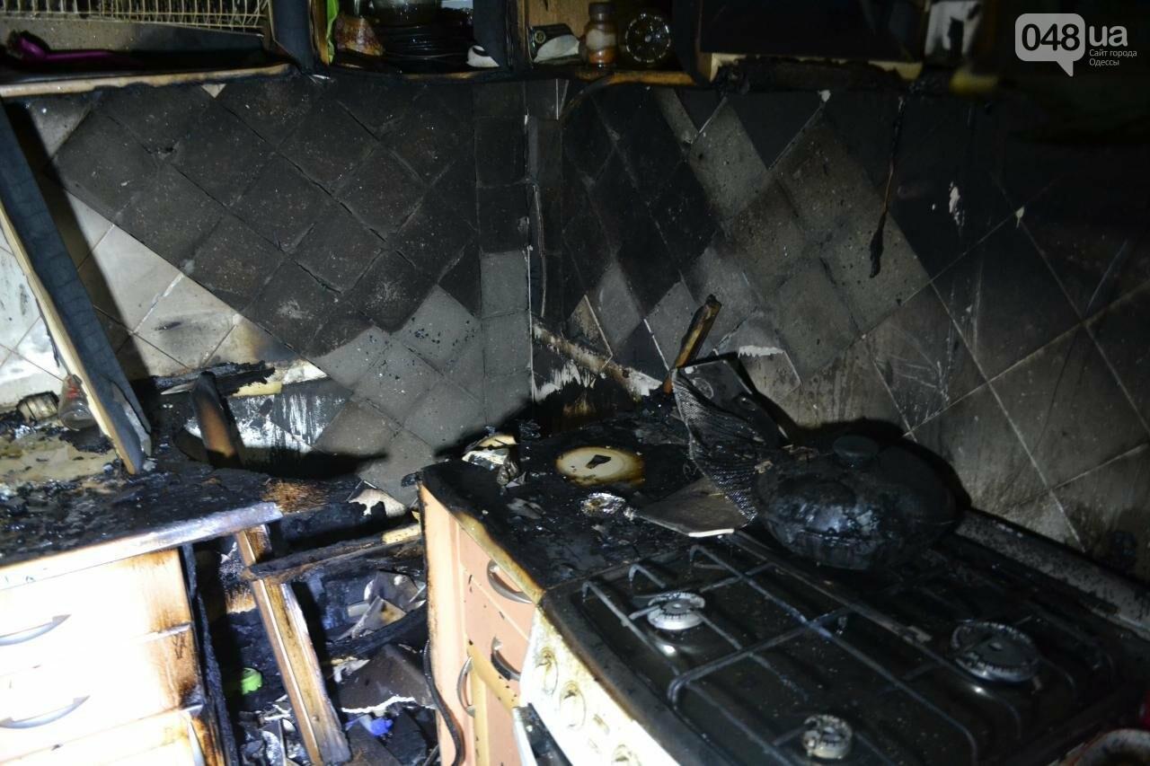"""В Одесской """"хрущевке"""" выгорела квартира, - ФОТО, фото-3"""