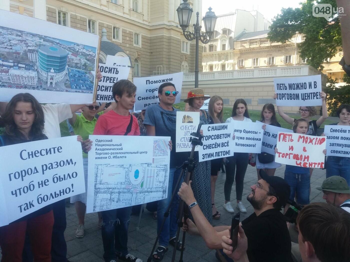 В Одессе требовали снести оперный театр и построить торговый центр, - ФОТО, ВИДЕО, фото-11