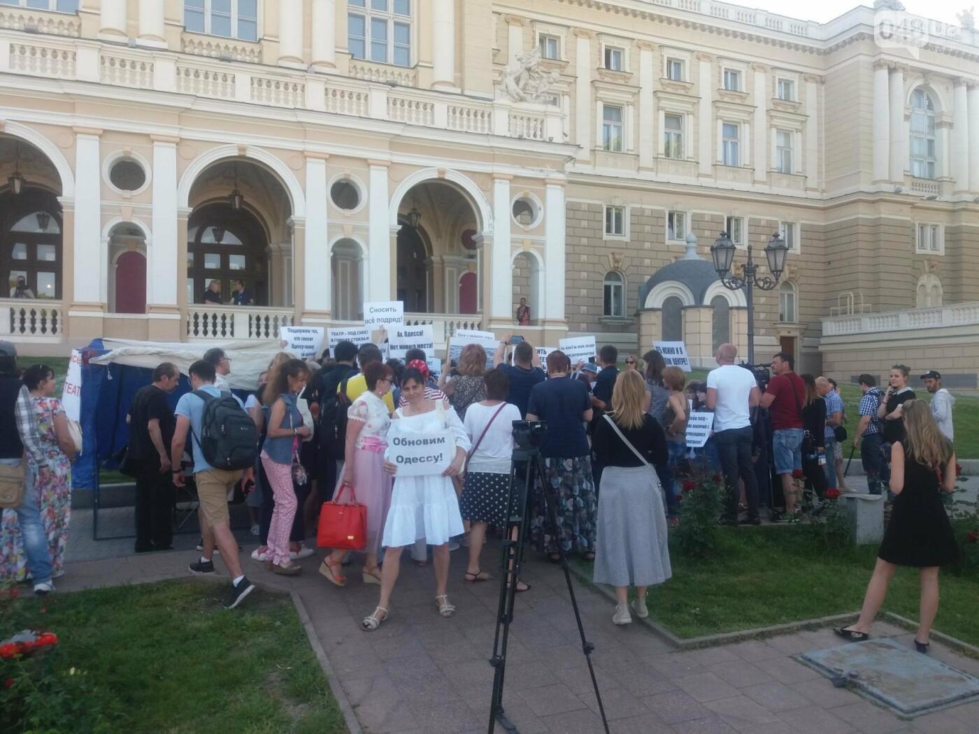 В Одессе требовали снести оперный театр и построить торговый центр, - ФОТО, ВИДЕО, фото-10