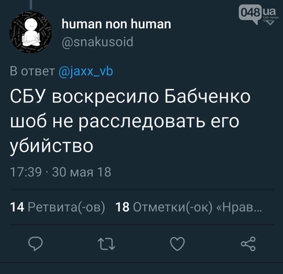 Воскресший Бабченко захотел посмеяться: Одесса сделала, - ФОТО, фото-26