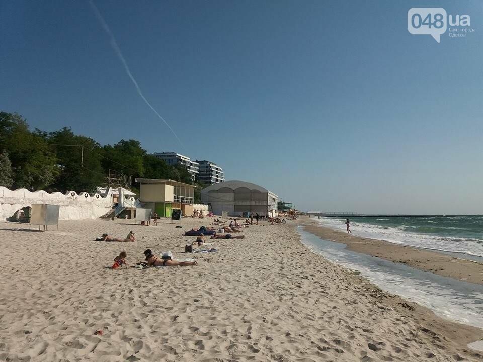 Первое утро лета: одесские пляжи заполняются отдыхающими, - ФОТО, ВИДЕО, фото-1