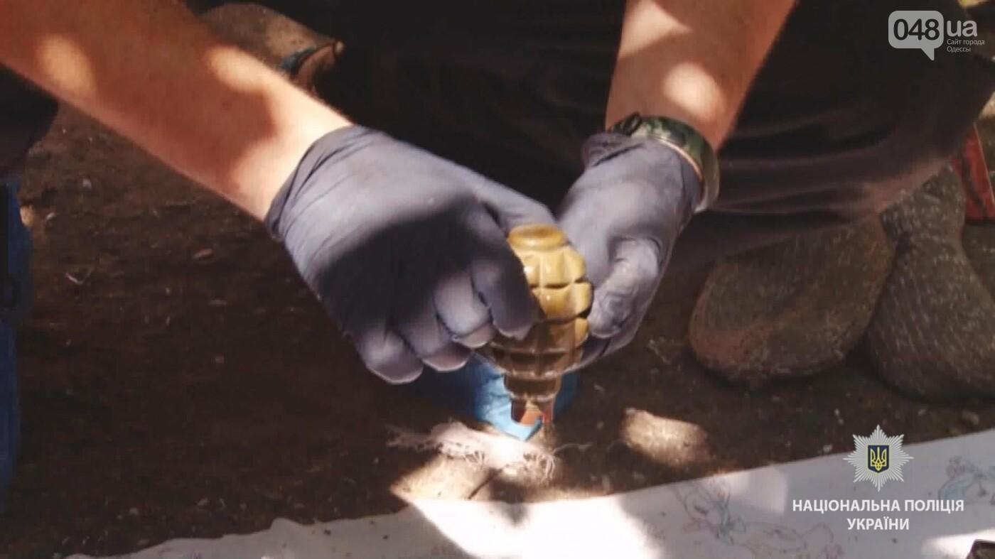 Под Одессой обнаружили тайник с оружием и боеприпасами, - ФОТО, ВИДЕО, фото-1