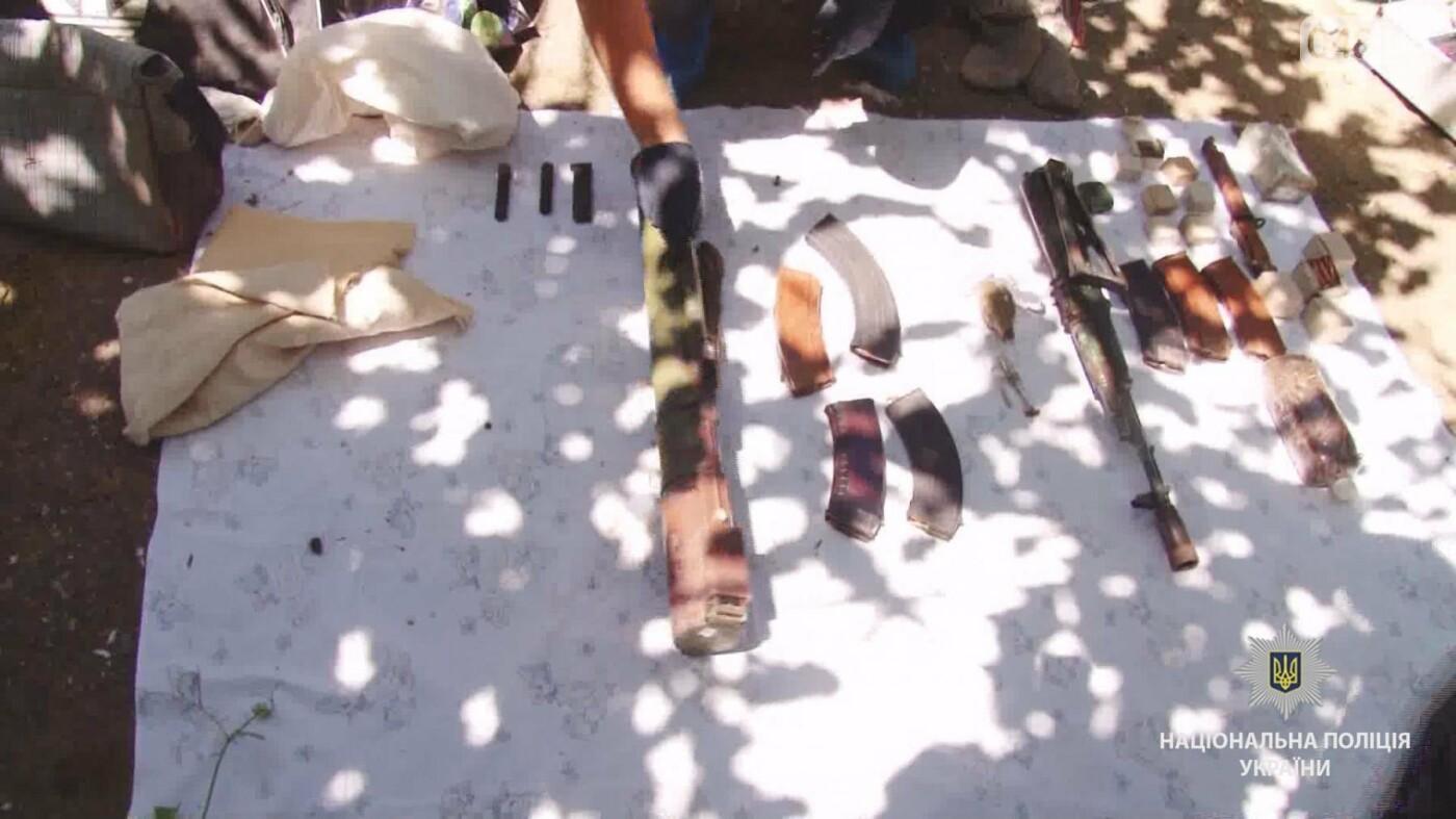 Под Одессой обнаружили тайник с оружием и боеприпасами, - ФОТО, ВИДЕО, фото-3
