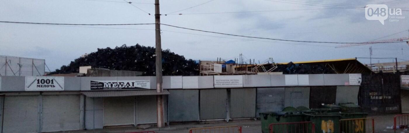 На одесском Привозе сгорел контейнер: еще семь повреждены огнем, - ФОТО, фото-4