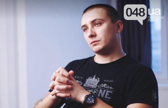 В момент нападения на Стерненко был еще один человек, - ФОТО, фото-2