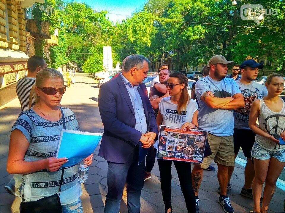 Одесские зоозащитники потребовали у полиции наказать садиста, - ФОТО, ВИДЕО, фото-6