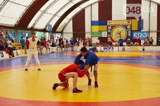 Область приняла чемпионат Украины по самбо. Разыграно более 180 комплектов наград, фото-1