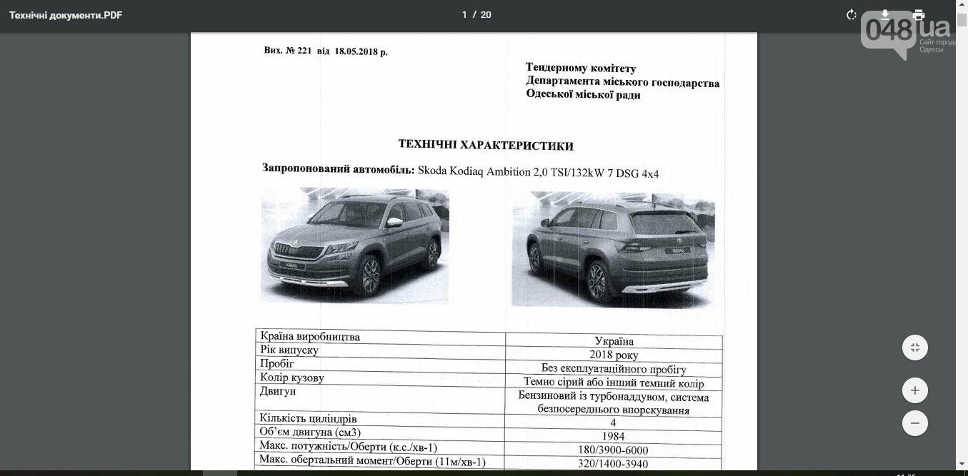 Купить Шкоду и не получить по рукам: Эпопея с покупкой крутых тачек для одесских чиновников продолжается, - ФОТО , фото-3