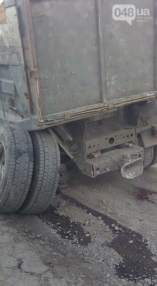 В Одесской области трассу заблокировал рассыпавшийся грузовик, - ФОТО, фото-1