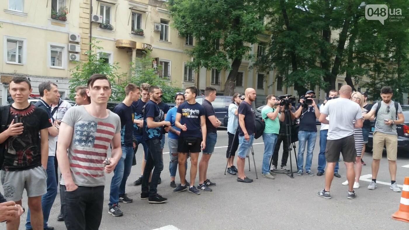 Вооружаться и объединяться призывали активисты на акции у Управления Полиции в Одессе, - ФОТО, ВИДЕО, фото-6