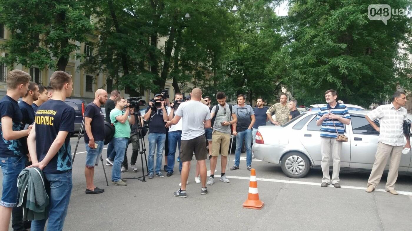Вооружаться и объединяться призывали активисты на акции у Управления Полиции в Одессе, - ФОТО, ВИДЕО, фото-5
