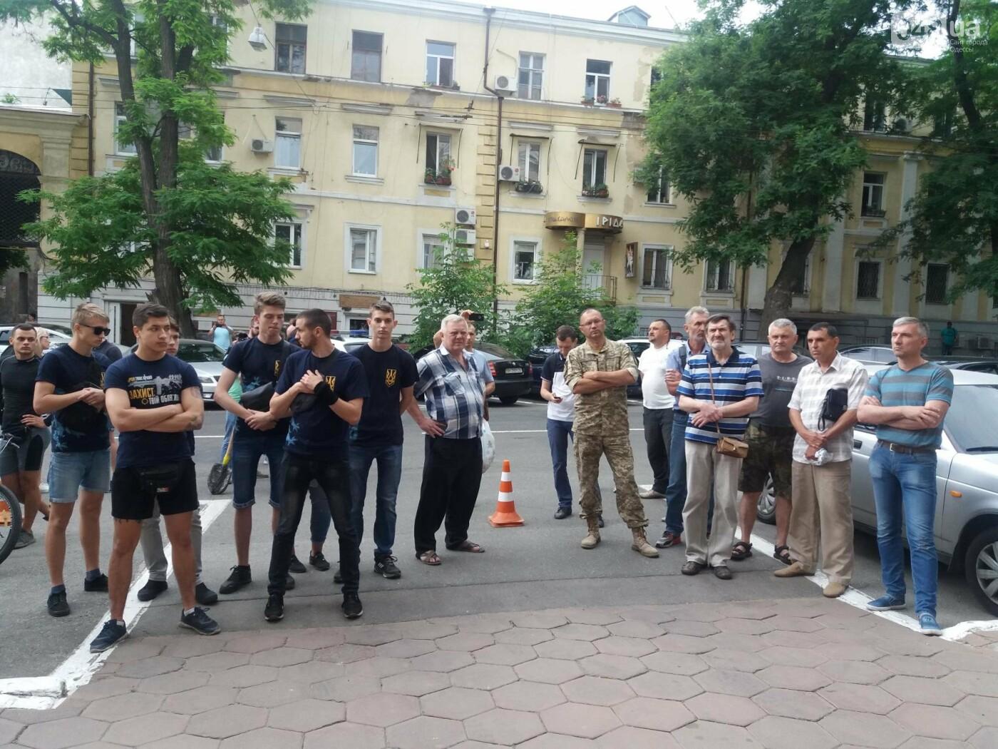 Вооружаться и объединяться призывали активисты на акции у Управления Полиции в Одессе, - ФОТО, ВИДЕО, фото-4