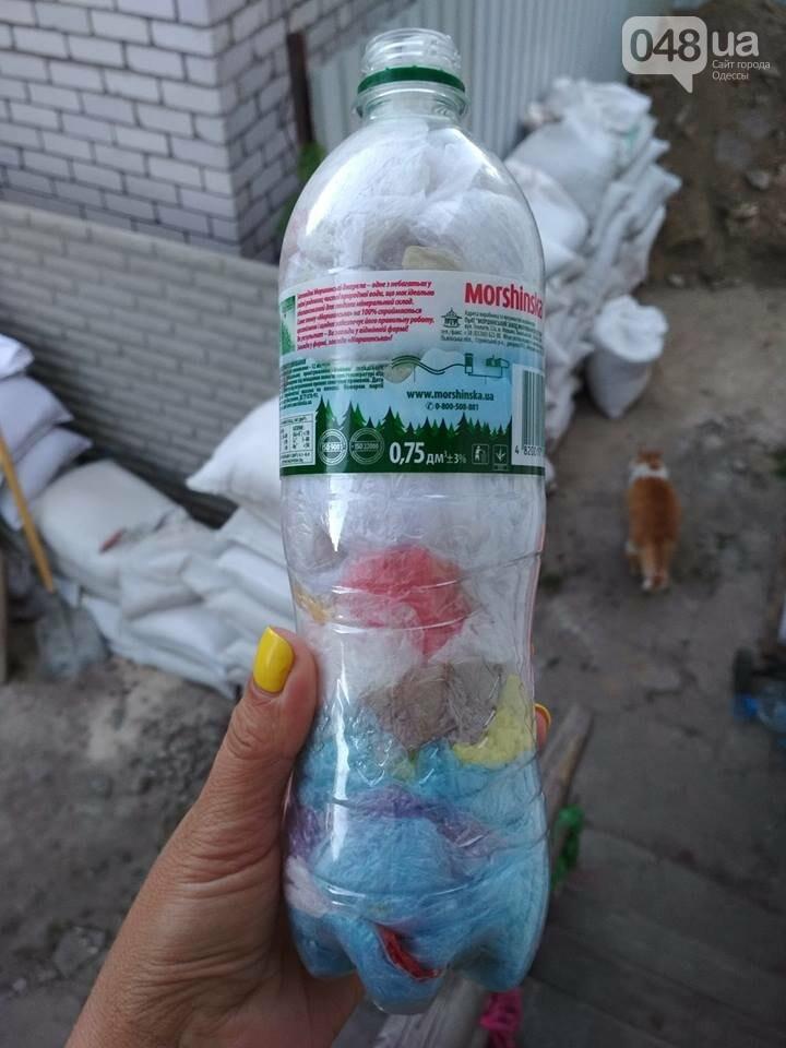 Одесситка месяц необычно сортировала кульки из магазина: посмотри, что вышло, - ФОТО, фото-1