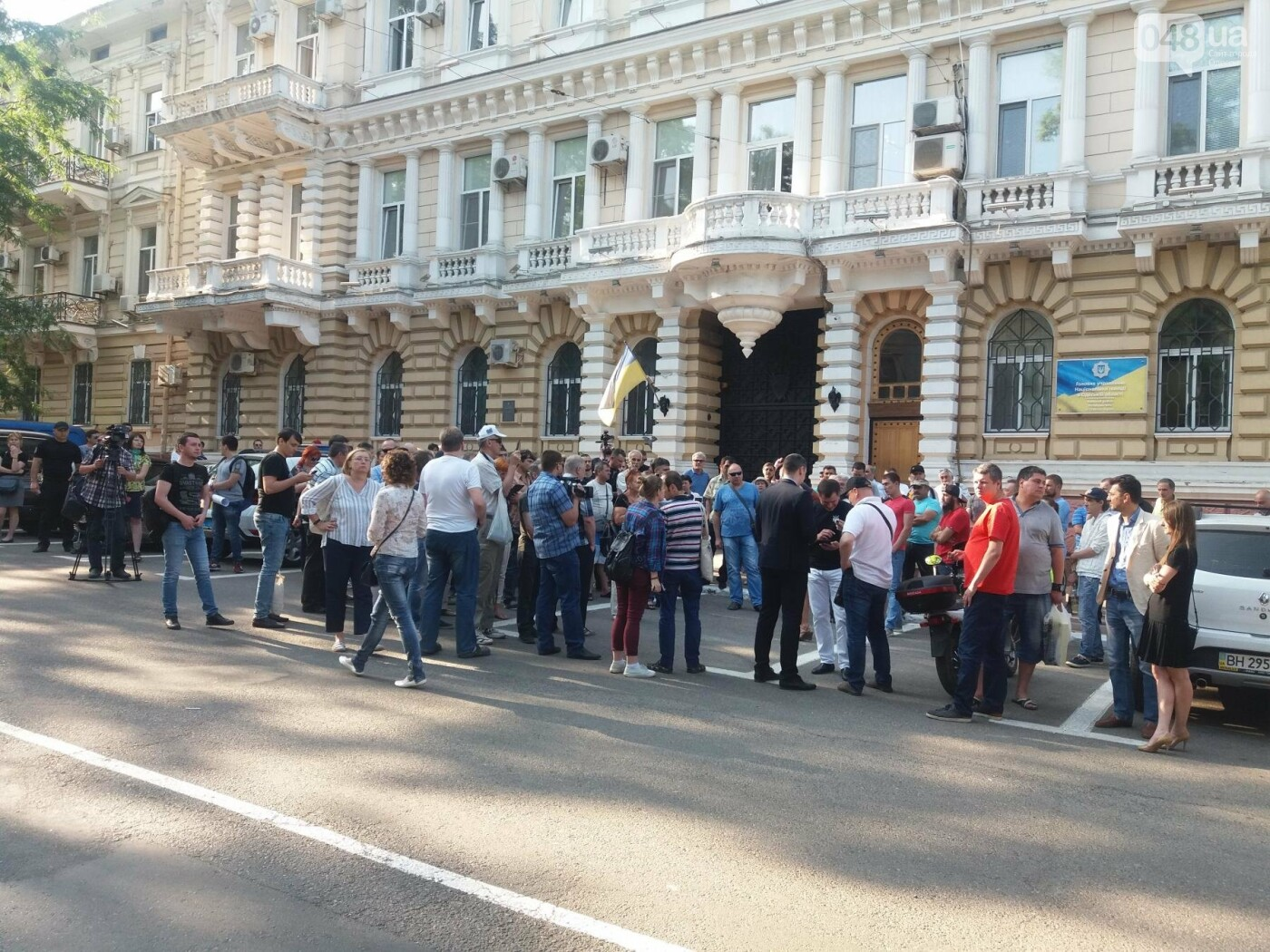 В Одессе протестовали против нападений на активистов и журналистов, - ФОТО, ВИДЕО, фото-10